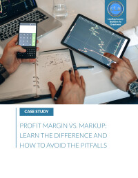 eBOOK: Margin Vs. Markup: The Difference And Easy Formula